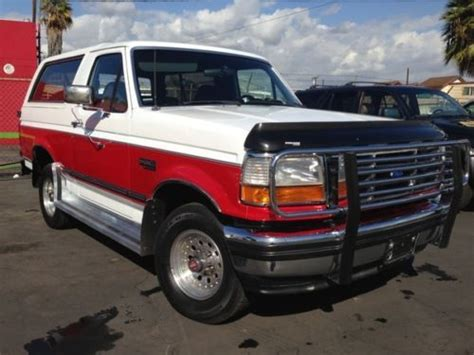 automotive air conditioning repair 1993 ford explorer interior lighting sell used 1993 ford bronco xlt full size bronco in anaheim