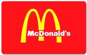 Free Mcdonalds Gift Cards - free 5 mcdonald s gift card for mycoke rewards members i crave freebies