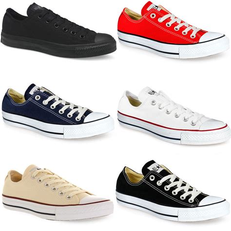 all sneakers mens converse ct all low unisex trainers for mens womens
