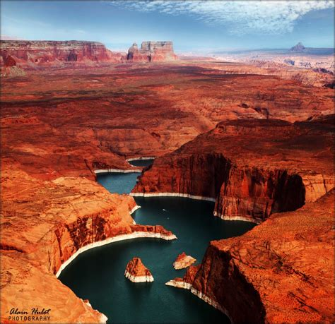 places to visit in us lake powell utah and arizona united states beautiful