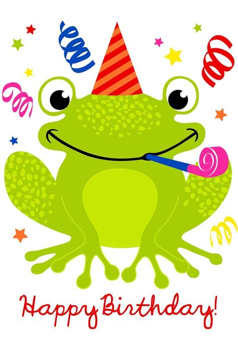 frog birthday card template happy birthday frog pictures photos and images for