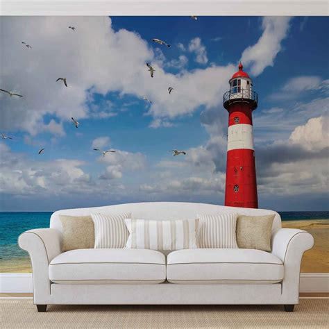 lighthouse wall mural lighthouse wall paper mural buy at europosters