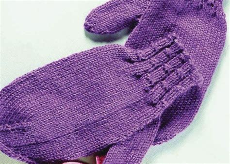 how do you knit mittens free knitting patterns you to knit mittens pattern