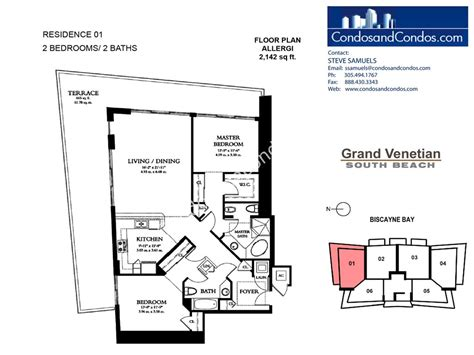 venetian floor plan grand venetian condos for sale south beach