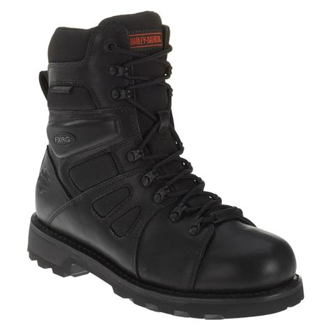 black boots for harley davidson mens fxrg leather boots black
