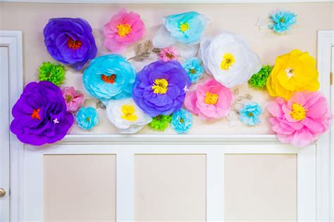 How To Make Paper Mache Flowers - do it yourself oversized paper mache flowers