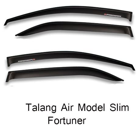 Talang Air Pajero Sport Slim jual talang air toyota fortuner model slim talang air