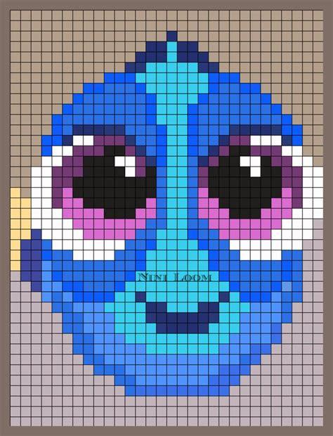 bead pattern video baby dory perler bead pattern pixel nini pinterest