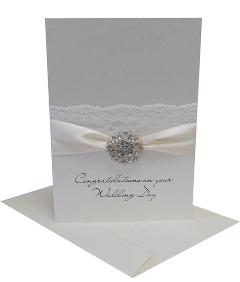 large opulence personalised wedding card by made with designs ltd notonthehighstreet