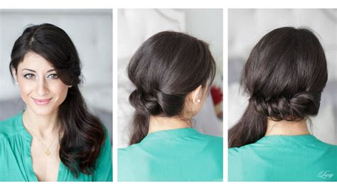 Channel Luxy Box twisted side ponytail