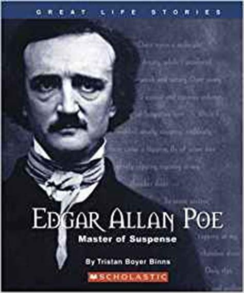 biography of edgar allan poe amazon amazon com edgar allan poe master of suspense great