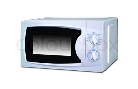 Table For Microwave by Microwave Oven On The Table Stock Photo Colourbox