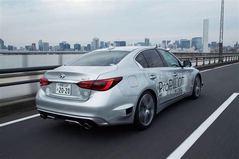 nissan infiniti nissan hits tokyo s streets with fully autonomous infiniti