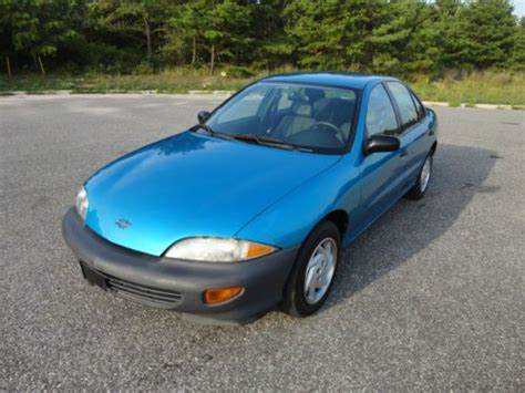 how it works cars 1999 chevrolet cavalier security system sell used 1999 chevy cavalier cng ngv bifuel hybrid sedan dual fuel 79k miles no reserve in