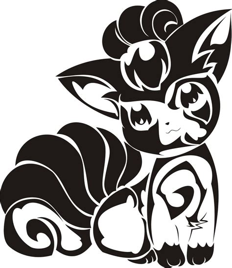 tribal vulpix tattoo by newtoniannocturn on deviantart