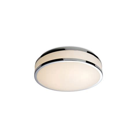Bathroom Led Ceiling Lights Firstlight 8342 Atlantis Led Flush Bathroom Ceiling Light With Chrome Lighting From The Home