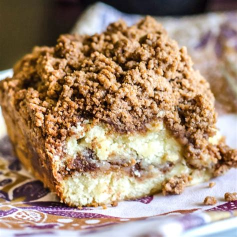 Cinnamon Coffee Cake with Streusel Crumb Topping ? Go Go