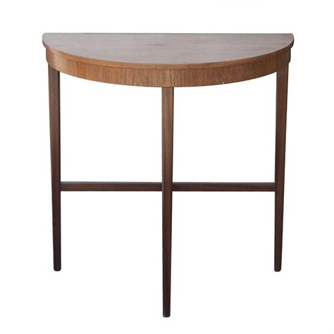 console accent tables half moon demi lune console end table ebay