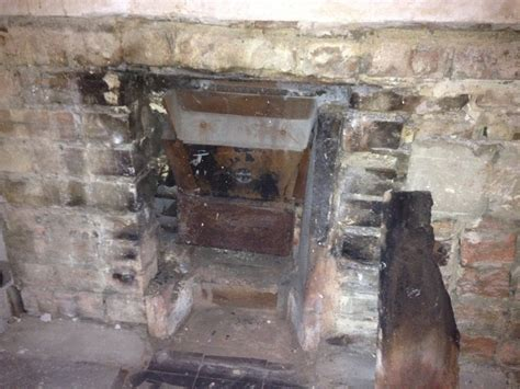 removal of back boiler chimneys fireplaces in