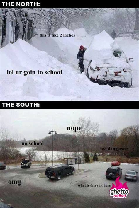 snow in south snow meme archives ghetto red hot