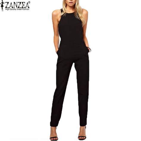 aliexpress jumpsuit aliexpress com buy zanzea brand 2016 summer elegant