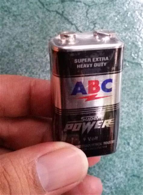 jual baterai abc kotak baterai abc super power  volt