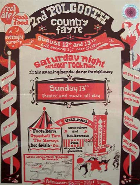 don t rock the boat advert polgooth country fayre 1977 1979