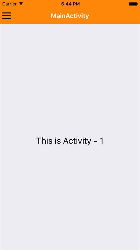 react native navigator tutorial react native drawer navigator android ios tutorial with