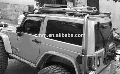 Jeep Wrangler Unlimited Roof Rack No Drilling Jeep Wrangler Jk Detachable Roof Rack Buy Roof Rack For