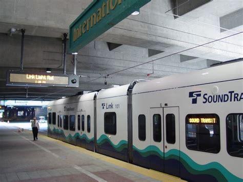 Sound Transit Link Light Rail by History Of Link Light Rail