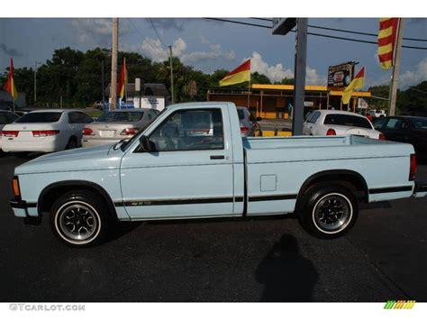1992 sky blue chevrolet s10 regular cab 13472789 photo 2