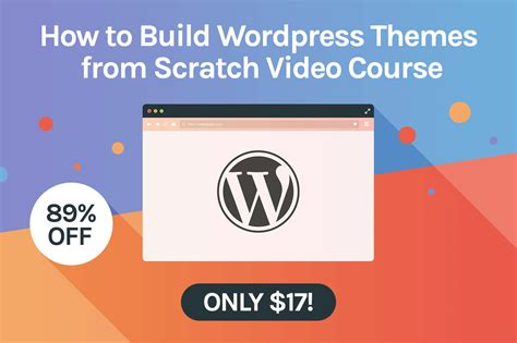 how to create wordpress themes from scratch part 1 deals for developers and designers webdesigner depot