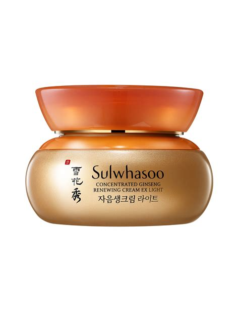 Sulwhasoo Ginseng Ex sulwhasoo คร มบำร งผ วหน า concentrated ginseng renewing