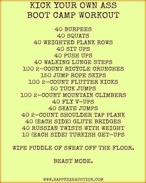 1000 ideas about boot c workout on boot