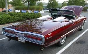 1966 ford thunderbird convertible rear view