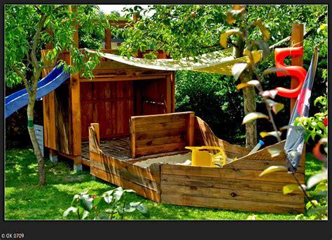 Spielschiff Garten