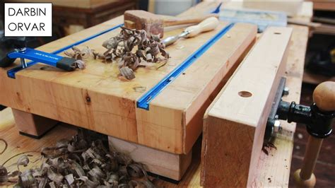 mini workbench  woodworking vise clamps youtube