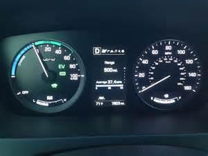 Hyundai Sonata Dashboard 2016 Hyundai Sonata Hybrid