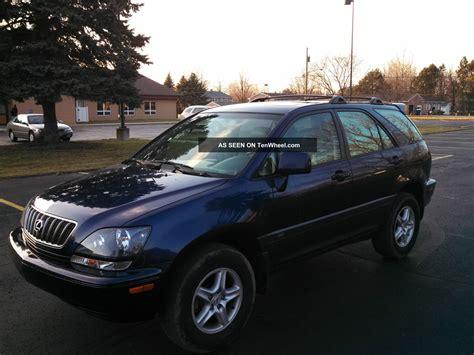 lexus suv 2001 2001 lexus rx300 all wheel drive awd suv 3 0 liter 6