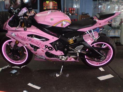 Motorrad Honda Pink by Juzz Wheelzz Pink Hello Kitty R6