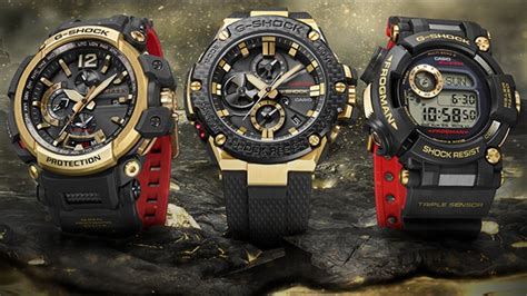 35th Anniversary G Shock 2 limited models g shock timepieces casio