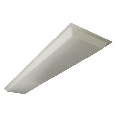 fluorescent light acrylic diffuser lithonia lighting 10 44 in x 48 22 in dropped white