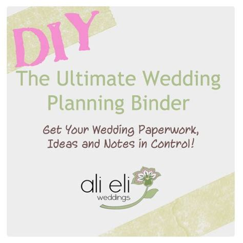 Wedding Planner Binder by Wedding Planning Binder Wedding Planning Binder And
