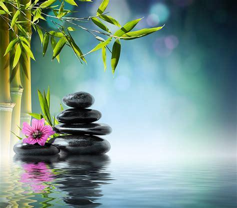imagenes relajantes zen fondos de pantalla piedras bambusoideae spa descargar imagenes