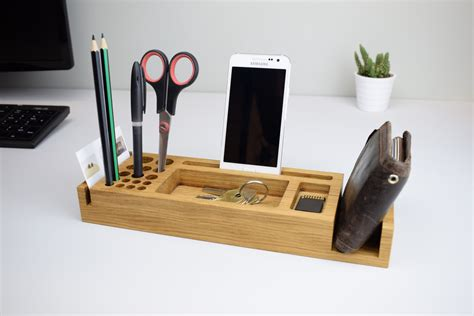 desk organizer personalised gift desk organization pen