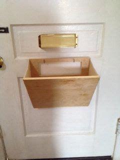 mail slot catcher pouch basket box thingeemabob