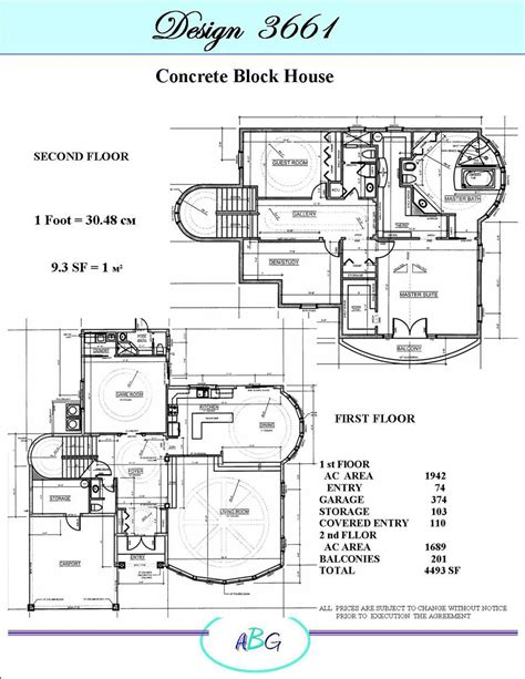 residential blueprints home designs
