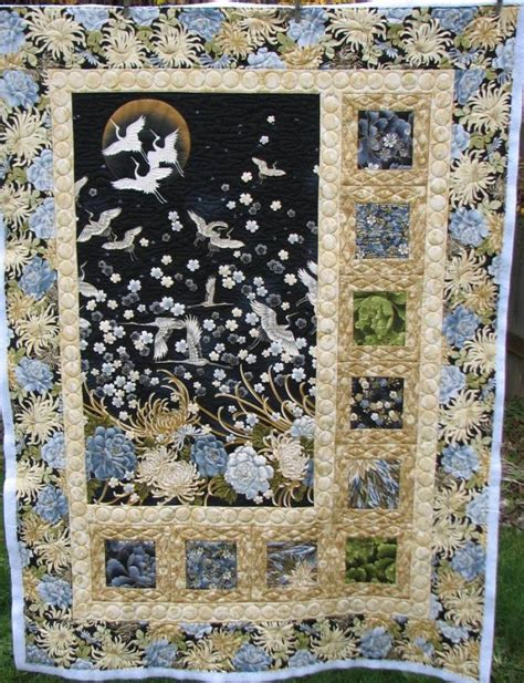 Fabric Panel Quilt Patterns by 25 Best Ideas About Quilts On Japanese