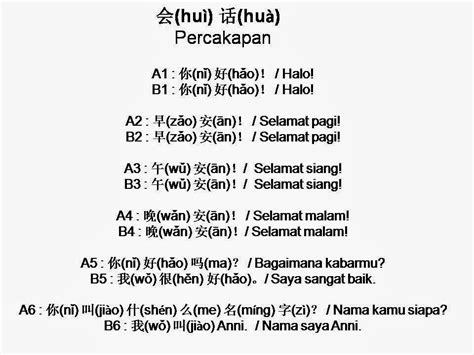 Mudah Dan Lancar Belajar Bahasa Mandarin Dalam Sehari belajar mandarin dasar percakapan mandarin dasar 1