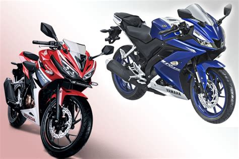 Teringann All New Yamaha R15 adu kuat all new yamaha r15 dan all new honda cbr150r